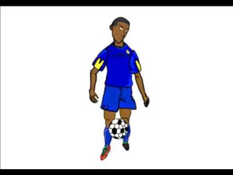 Flash AnimationFootballersoccer Player Juggling