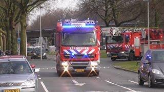 [BULLHORN!] PRIO 1 Brandweer Mijnsherenlaan TS90-5 & AL44-1 Persoon te water