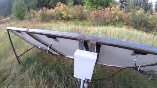 4000 Watt AIMS Power Inverter Solar Panels Wind Turbine Setup Part 2 - Off-Grid w Grid-Tie Failover