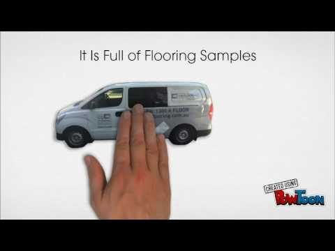 CQ Flooring Mobile Showroom in Melbourne