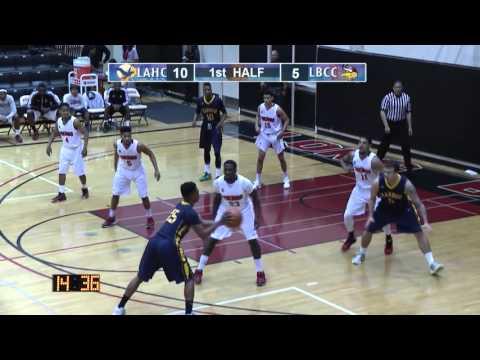 LBCC - Men's  Basketball vs. LAHC - February 17, 2016 - First Half