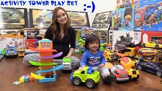 Educational Toddlers' Toys: Bruin Tower Activity Play Set, Fire Truck Toy, Bump & Go Toys and More!