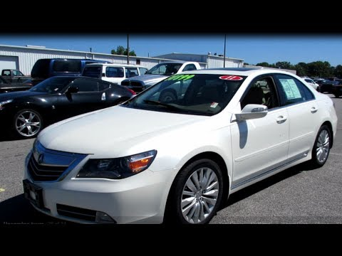 2011 acura rl sh awd walkaround start up tour and overview youtube