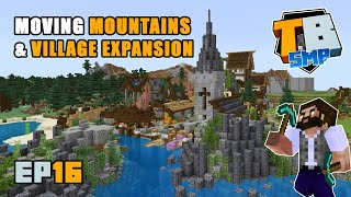 Moving mountains & Village expansion! | Truly Bedrock Season 2 [16] | Minecraft Bedrock