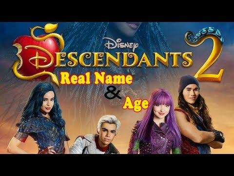 Descendants 2 Stars Real Name And Age