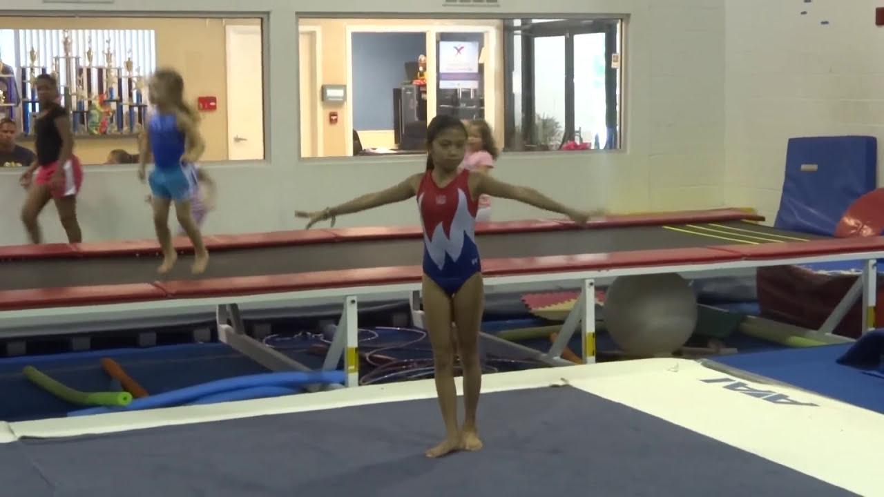 Bay City Gymnastics New Usag Level Floor Exercise Routine Youtube