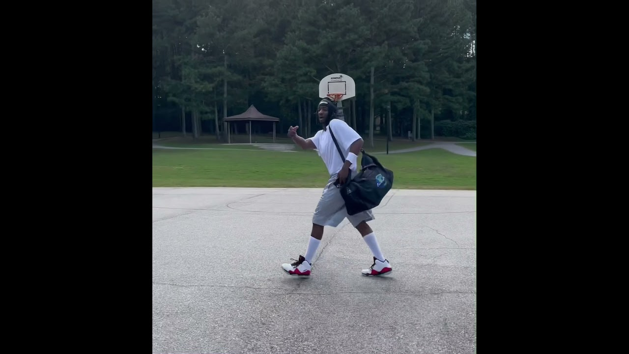 It's always that one dude with dreads who swear they can hoop!