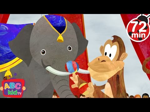 Animal Fair (2D) | +More Nursery Rhymes & Kids Songs - Cocomelon (ABCkidTV)