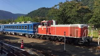2017年10月10日 若桜鉄道DD16&12系客車