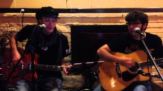 The Royce and Corey acoustic Jacktacular - Nine Times Blue - 10/4/13 Monkees Nesmith cover