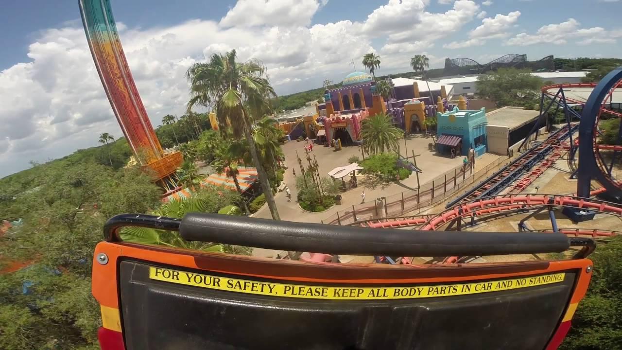 Scorpion at Busch Gardens Tampa - YouTube