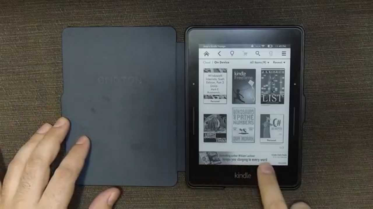 Kindle Special Offers - Before and After