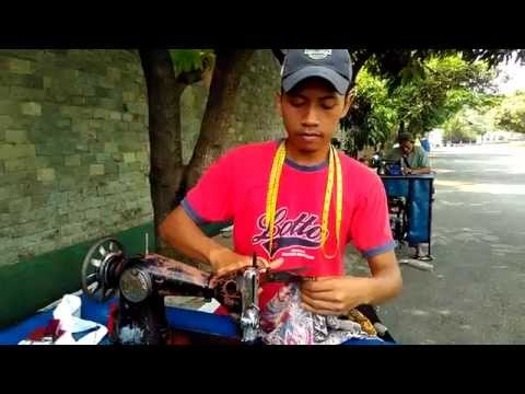 Roving tailor - a very unique job in Jakarta