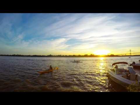 Timelapse desde las Islas de Rosario, Argentina.