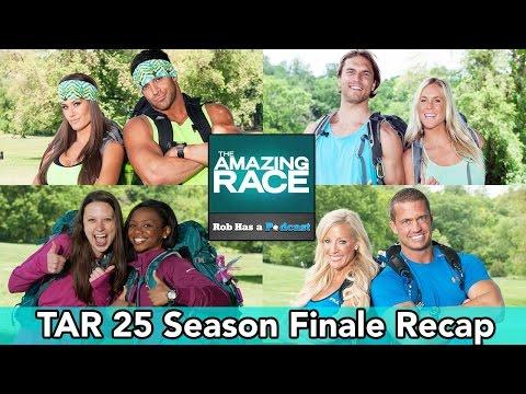 The Amazing Race 25 Season Finale Recap | December 19, 2014