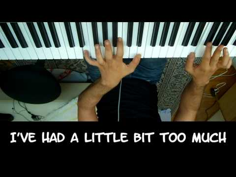 Lady Gaga-Just Dance Karaoke / Piano Cover in HD with Lyrics/Sheets by Sam Masghati