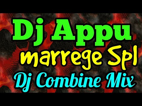 Marrege Spl  Dj Appu Combine Hindi  Mix 2018 Full Bass