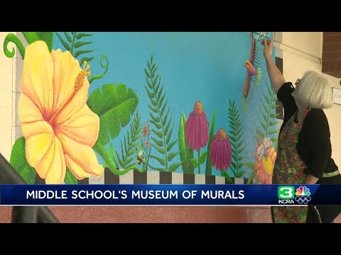 How an Elk Grove school district is inspiring students — with murals