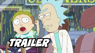 Rick and Morty Season 5 Trailer 2021 Breakdown and Marvel Easter Eggs