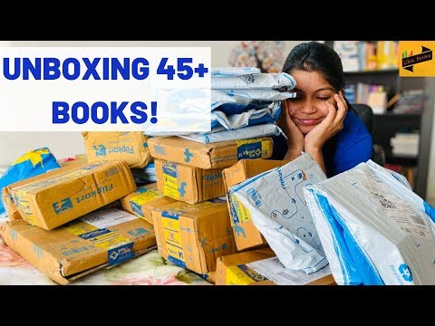 HUGE unboxing/haul of 45+ books from the Flipkart sale! | Part 1 | Libro Review