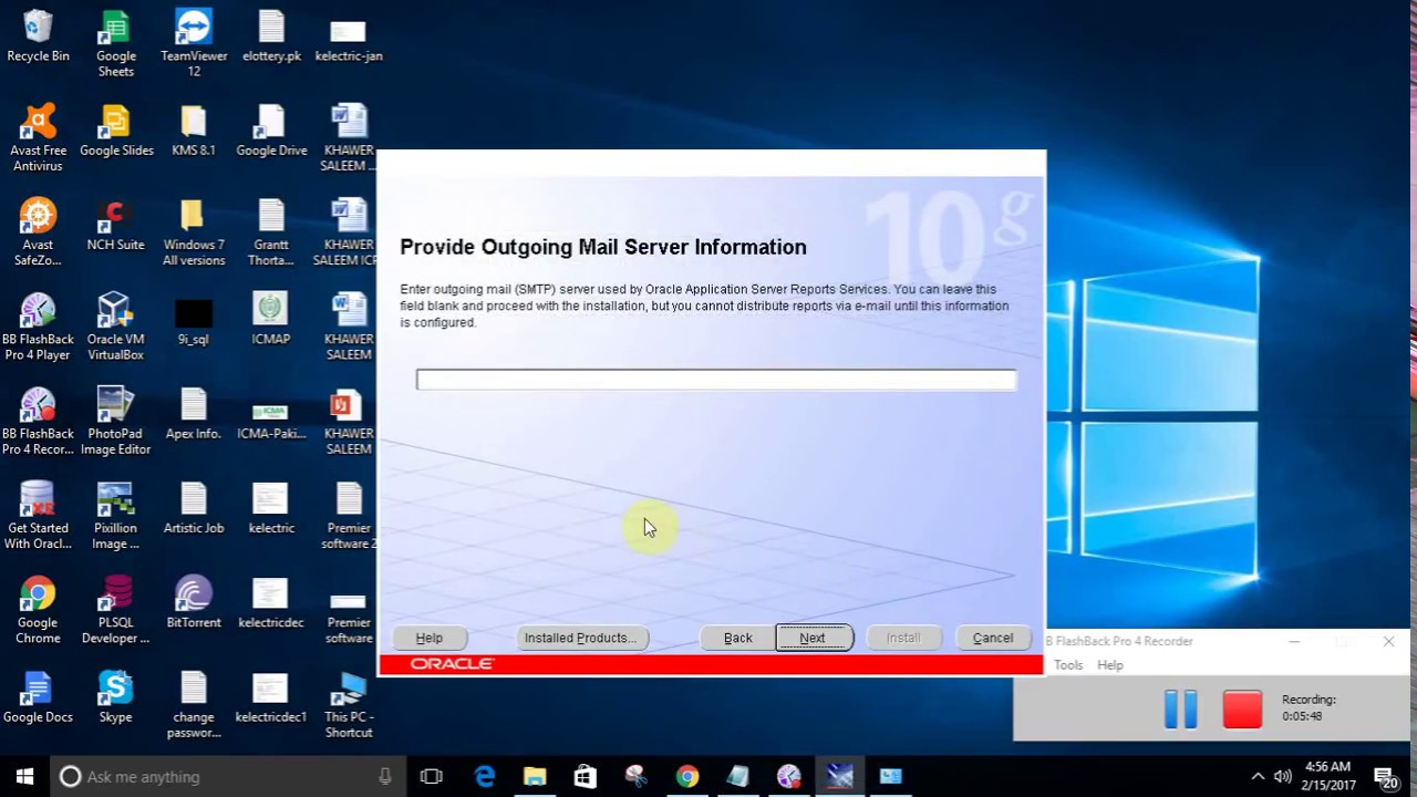 Oracle 10g Forms and Report Installation on Windows 10 (64-bit)