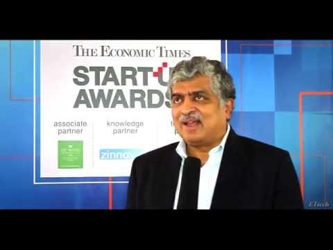 Nandan Nilekani on the Indian startup ecosystem
