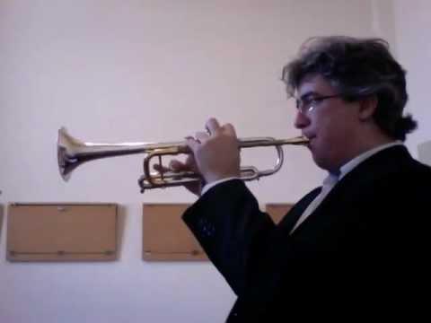 CONCONE - Lyrical Studies for trumpet - N. 1 - Moderato