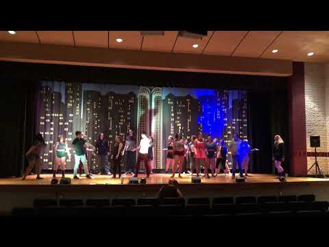 "Rehearsal: Apple Alley Players' ""Footloose the Musical"""