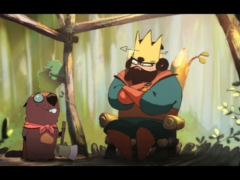 """""""The King and the Beaver"""" from Gobelins 