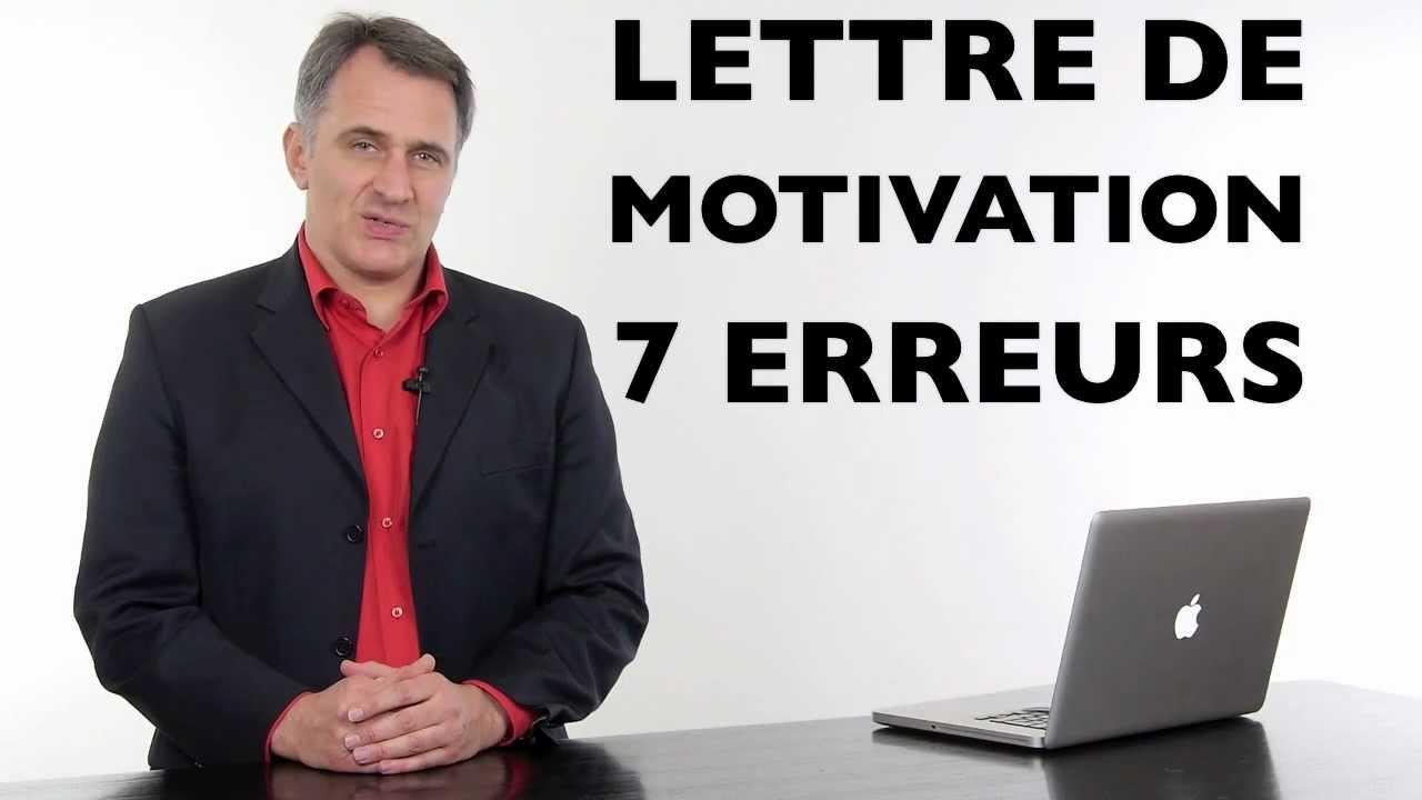 coach lettre de motivation exemples types des 7 erreurs viter pour crire sa lettre youtube. Black Bedroom Furniture Sets. Home Design Ideas