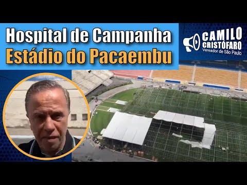 COVId-19: Estádio do Pacaembu