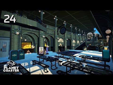 Planet Coaster | Adventure World 🌍 | Ep.24 Little Paris - Train Station (Part 2)