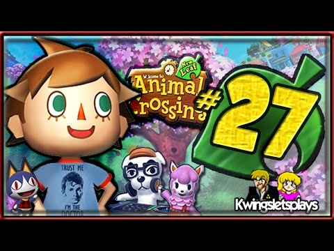 Animal Crossing New Leaf Part 27 How to use QR Codes