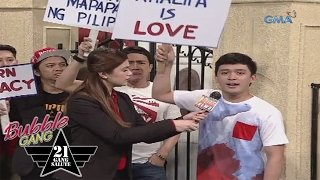 'Bubble Gang' Bloopers: Manly rights?
