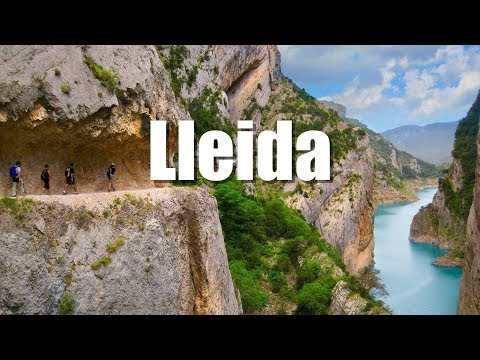 Top Lleida, Catalonia. HD