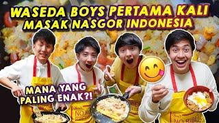 Download lagu PERTAMA KALI MASAK NASI GORENG INDONESIA BARENG WASEDABOYS! BERHASIL GAK YA!?