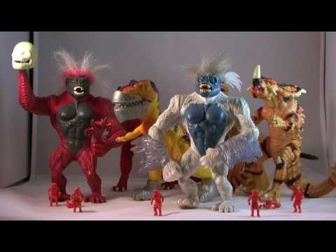 From Pixels to Plastic: Primal Rage Action Figures by ...
