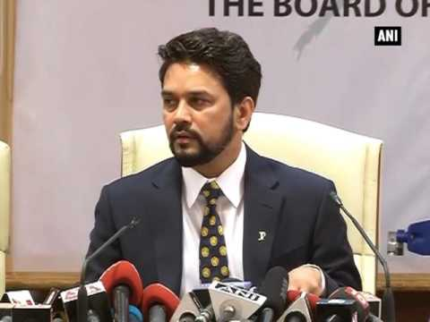 Honoured to be elected for the post: New BCCI chief