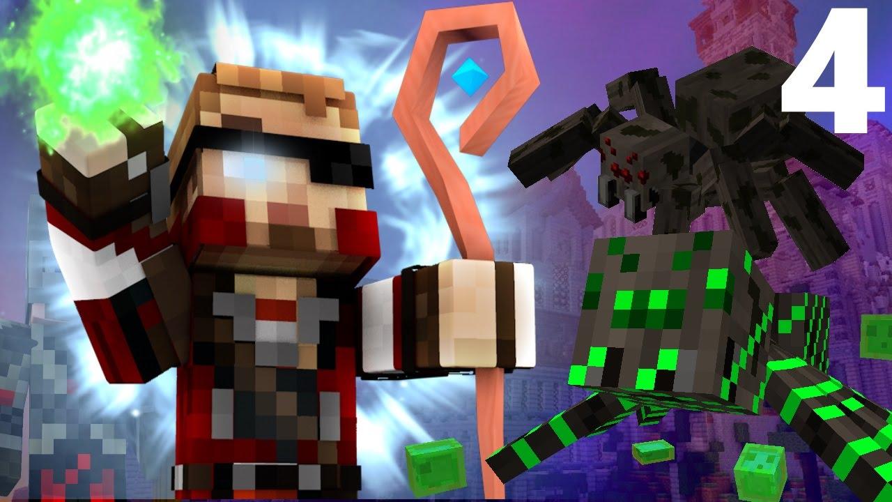 """FANTASY: Minecraft Roleplay #4 - """"SPIDER DUNGEON ..."""
