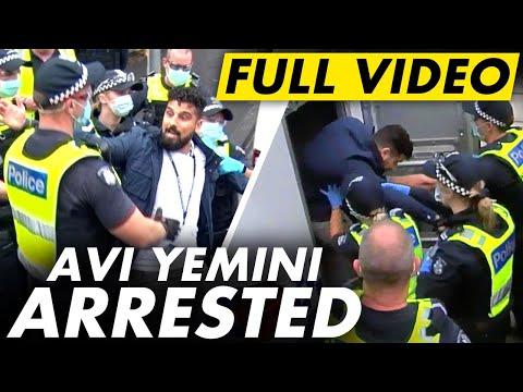 FULL VIDEO: Avi Yemini ARRESTED for journalism on Australia Day