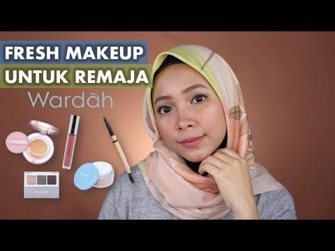 wardah-one-brand-makeup-tutorial,-natural-fresh-untuk-remaja