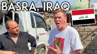 First Impressions of BASRA, IRAQ Travel Vlog أمريكي يزور البصرة في العراق