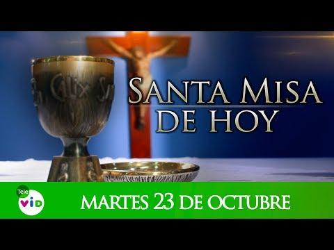 Santa misa de hoy martes 23 de octubre de 2018, Padre Wilson Grajales - Tele VID