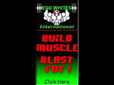 Egg Whites International sponsored athlete/ protein