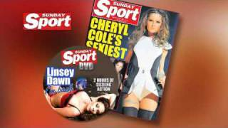 Linsey Dawn McKenzie is BACK! All new Sunday Sport TV ad sneak preview!!!