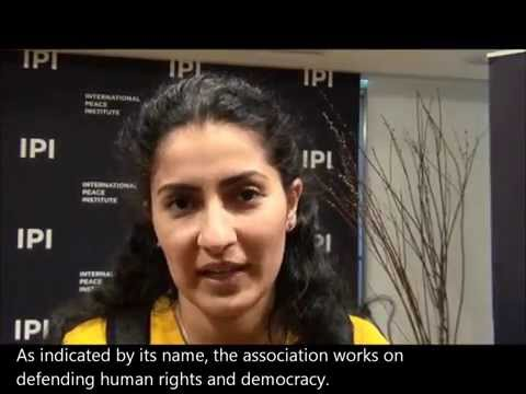 Hafsa Afailal, Mediator for Democracy and Human Rights, Morocco