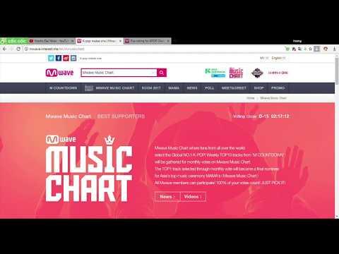 Vote for BTS on Mcountdown ( vote cho BTS trên Mcountdown )