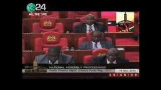 National Assembly To Discuss Kenya