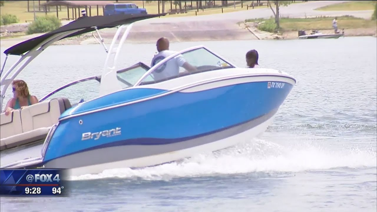 Richard Ray visits Lewisville Lake and Freedom Boat Club