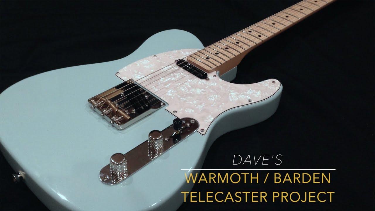 Dave's Warmoth/Barden Telecaster